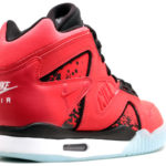 Nike air tech challenge hybrid – men's – basketball – footwear – challenge red/black/white-colored/challenge red