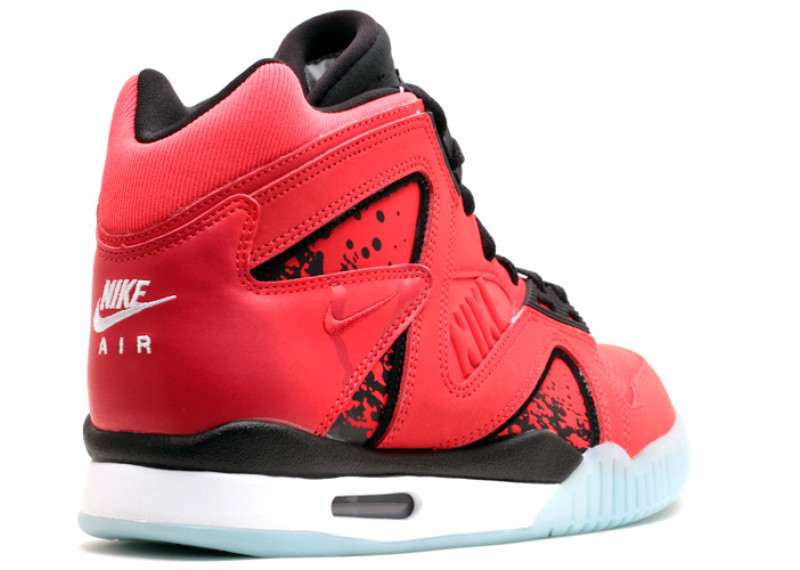 Nike air tech challenge hybrid - men's - basketball - footwear - challenge red/black/white-colored/challenge red