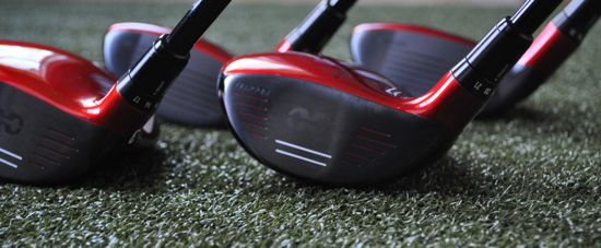 Covert Fairways Hybrids - Four Faces