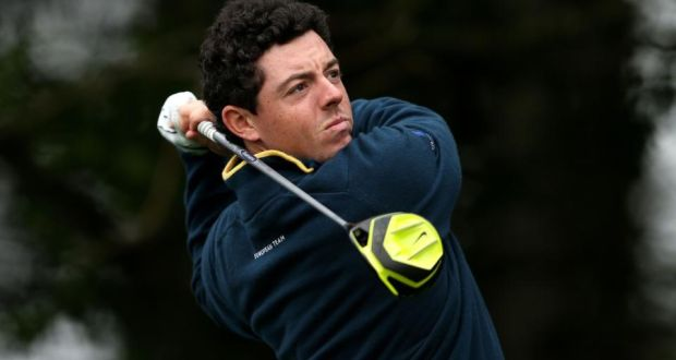 Rory McIlroy Vapor Pro driver Ryder Cup