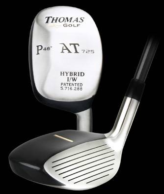 Hybrid golf equipment - custom hybrid irons  - by thomas golf