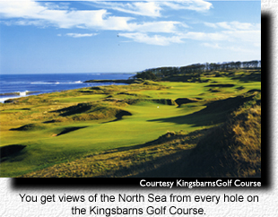 Kingsbarns for Scotland Golf